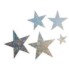 Star Holographic Shimmer Stars