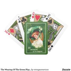 The Wearing Of The Green Playing Cards