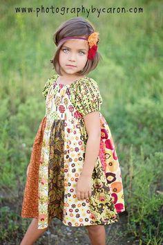 Jewel's Stripwork Dress - PDF Pattern - Create Kids Couture - $10.00 : Whimsical Designs