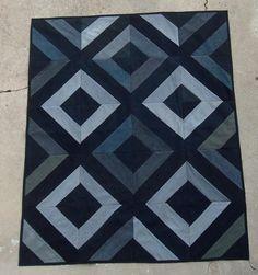 Recycled Denim from Kathy Nixie -- 24 Blocks