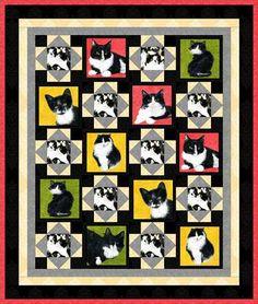 LMAO cat quilt!