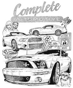 Free Mustang Coloring Pages to Print - Enjoy Coloring