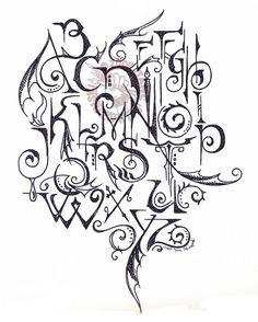 Alphabet Doodle by Myrret on DeviantArt