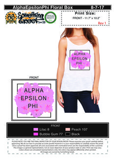 Custom Greek Screen-Print Designs for Rush, Recruitment, Greek Week, Homecoming, etc. Need fraternity & sorority shirt ideas?