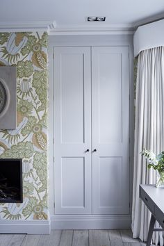 Master bedroom built in wardrobe Built In Wardrobe Ideas Alcove, Bedroom Built In Wardrobe, Wardrobe Doors, Wardrobe Design, Master Bedroom, Alcove Cupboards, Bedroom Cupboards, Interior Design London, Luxury Interior