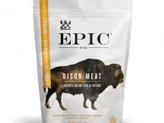 An ideal grab and go snack our Bison Bacon Bites are made with natural bison, uncured bacon, golden raisins, and chia seeds. These bites come in a resealable pouch, which makes them perfect for sharing and snacking throughout the day. Bacon Protein, Protein Meats, Protein Bites, Cyclical Ketogenic Diet, Ketogenic Diet Food List, Organic Snacks, Organic Recipes, Healthy Packaged Snacks, Bison Meat