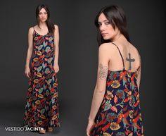 El Vestido Jacinta es elegante, fresco y femenino. Un #must para tu guardarropas. #Novedades #Vestidos #Estampados