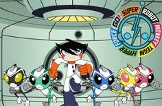 Super Robot Monkey Team Hyper Force Go! I loved this show. <3