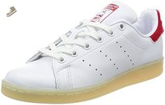 adidas Stan Smith W Womens Trainers White Red - 6 UK - Adidas sneakers for women (*Amazon Partner-Link)