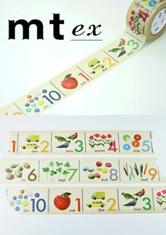 *new* MT Tape ex: Numbers Mt Tape, Mt Masking Tape, Tapas, Washi Tape Storage, Note Memo, Perfect Planner, Decorative Tape, Sticker Paper, Stickers