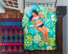 Karen Ann Myers Paintings From 'In The Bedroom' Are Psychological Portraits Of Young Women