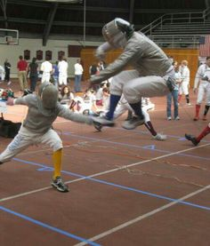 Awesome fencing photo