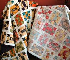 Tumbling Nine Patch pattern | by sweetjanequilting