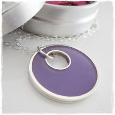 Radiant Orchid Sterling Silver and Resin Handmade by rmdjewellery Handmade Jewellery, Sterling Silver Jewelry, Orchids, Resin, Passion, Group, Purple, Board, Etsy
