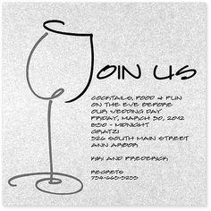 Wine theme invites