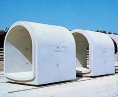 Concrete Facade, Concrete Forms, Precast Concrete, Concrete Houses, Concrete Building, Concrete Structure, Tiny House Hotel, Tiny House Cabin, Bunker Home