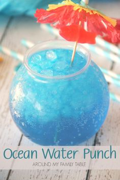 This copycat Ocean Water recipe is different than most of the ones I've seen online. My Ocean Water Punch is closer to the real thing and it's a whole lot easier too!