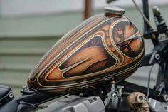 Harley-Davidson Twin Cam gas tank