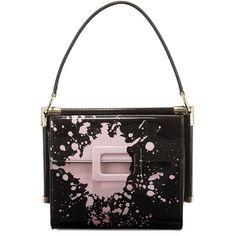 101dd9b35aef Roger Vivier Miss Viv Carre Small Splatter-Print Shoulder Bag ( 2