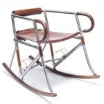 Randonneur Chair rocking chair cyclisme Two Makers - BED Velo Design, Bicycle Design, 3d Design, Pimp Your Bike, Recycled Bike Parts, Used Bikes, Outdoor Rocking Chairs, Bicycle Art, Bicycle Decor