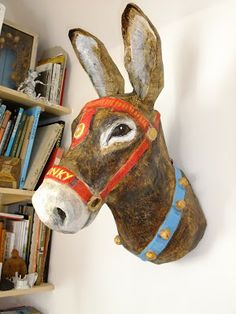 paper mache -The Stealthy Rabbit Blog
