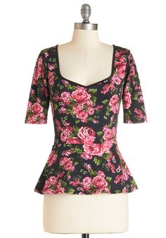 Tops - Giddy City Top in Floral