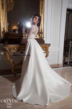 Wedding Dress Vivo by Atelier Ivoire! www.atelierivoire.bg