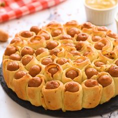 Pull-apart pigs in a blanket are a fun twist on classic pigs in a blanket. This is one appetizer recipe that is fun to make and eat. Dough, cocktail wieners, butter, and seasonings are baked together Appetizers For Kids, Best Appetizer Recipes, Finger Food Appetizers, Yummy Appetizers, Snack Recipes, Cooking Recipes, Snacks Ideas, Finger Foods For Party, Easy Finger Food