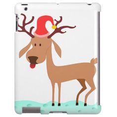 Cartoon Reindeer ipad case http://www.zazzle.com/cartoon_reindeer-179301521846406987?rf=238703308182705739