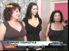 Jenette Bras KTLA-CW5 5am Pt. 1 Los Angeles, CA 08-10-09.wmv - YouTube 3 women get bra fittings, Jenette teaches on correct bra fit.