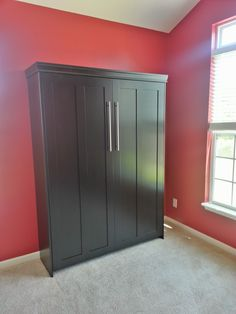 Our Customer From Orlando Florida Chose The Bedderway Vertical Full Contemporary Face Murphy Bed In