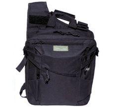 MFH Weste, Rucksack und Taschen in einem, schwarz / mehr Infos auf: www.Guntia-Militaria-Shop.de