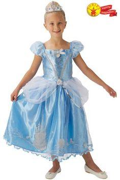 Rubies Blue Cinderella Fancy Dress Costume