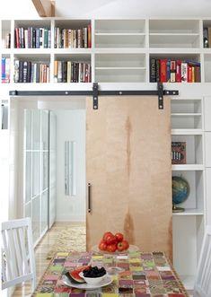 Plywood barn door @Kate Mckenna Krall like this?