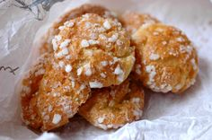Chouquettes-French recipe
