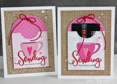 Awesome design by Nichol Magouirk using Simon Says Stamp Dies a long with Pretty Pink Posh.
