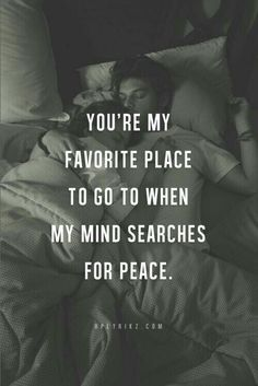 You're my favourite place