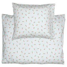 GreenGate Kids Bed Linen Set - Junior Sengesæt - Lily Petit White 100 x 140 cm. Kids Bed Linen, Bed Linen Sets, Bella Rose, Linen Bedding, Bed Pillows, Pillow Cases, Baby Kids, Lily, Odd Molly
