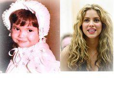Shakira, antes y ahora