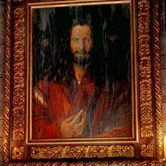 In Dracula's castle, there is this old portrait of him hanging on the wall: So does that painting look familiar to anyone? It is of course based on the self-portrait by Albrecht Dürer, painted around 1500: