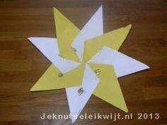 Kerstknutsel ster maken van vliegers