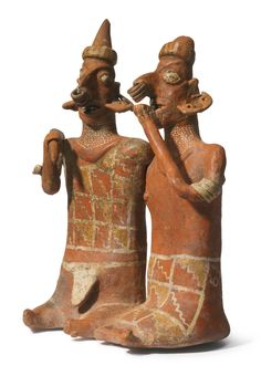 Nayarit Joined couple, Ixtlán del Rio style Protoclassic, ca. 100 B.C.-A.D. 250