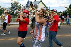 """""""Oh, Say Can You See"""" by Barbara Richerson, #AlpineTXPhoto contest finalist! #alpinetexas #parade"""