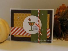 Fall Frenzy Day 6 Making Spirits Bright Card