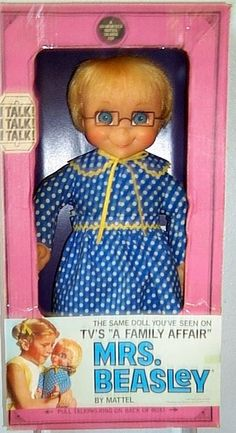 Oh how I miss my Mrs. Beasley doll. She always gave such good advice!