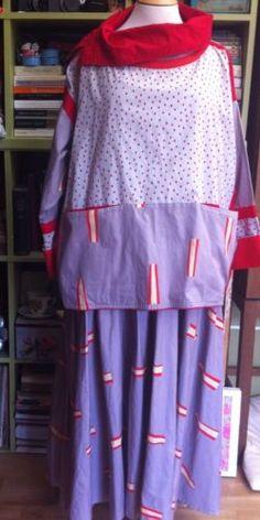 Vintage-annees-80-Mumbo-Jumbo-Katie-PYE-robe-et-haut-taille-10-1984-NEW-WAVE-Puink