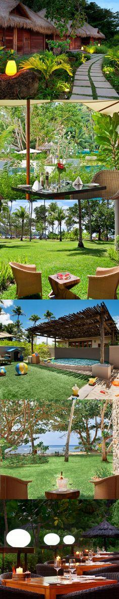 beautiful garden in Seychelles!