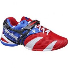 babolat stars and stripes tennis shoes!!!!!!!