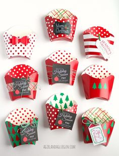 Don't let the holidays FRY you out. - A girl and a glue gun Christmas Craft Fair, Christmas Favors, Christmas Paper Crafts, Christmas Candy, Christmas Projects, All Things Christmas, Holiday Crafts, Handmade Christmas, Fry Box