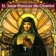 Join the @cathapostlectr in commemorating the #FeastDay of St. Jane Frances de Chantal!  Jane Frances was a wife, mother, nun and founder of a religious order!  #Saint Jane Frances de Chantal, pray for us!  #Catholic